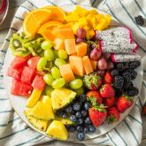 Raw Organic Fruit Platter